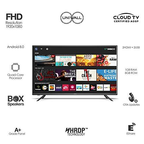 Shinco 124 cm (49 inches) Full HD Smart LED TV SO50AS-E50 (Black) (2019 Model) 3