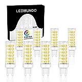High CRI G9 LED Light Bulbs, 8 Pack, Flicker-Free Fully Dimmable 5.5W Bulb (60W LED Halogen Equivalent), 580LM, Daylight White 5000K, ETL Listed, G9 Bulbs for Home Lighting, Omnidirectional Lighting