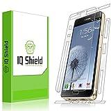 IQ Shield LiQuidSkin Clear Full Body Skin + Full Coverage Screen Protector for Samsung Galaxy A9 (Galaxy A9 Pro) HD Anti-Bubble TPU Film