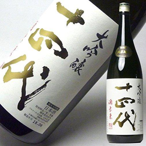 高木酒造 十四代 純米大吟嬢 酒未来 1.8L