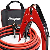 Energizer 2 Gauge 800A Heavy Duty Jumper Battery Cables 20 Ft Booster Jump Start - 20 Ft Allows You to Boost Battery from Behind a Vehicle