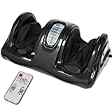 Best Choice Products Shiatsu Foot Massager, Therapeutic Kneading and Rolling w/ Remote, 3 Modes - Black
