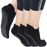 Yoga Socks for Women Non Skid Slipper Socks with Grips Barre Socks Pilates Socks