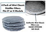 4 Pack of Filters for Mini Classic II Pure Water Countertop Water Distiller