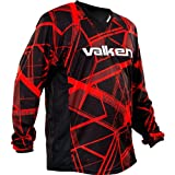 Valken Crusade Hatch Jersey, Red, 3X-Large