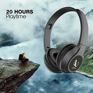 Infinity (JBL) Glide 500 Wireless Headphones with 20 Hours Playtime (Quick Charge), Deep Bass and Dual Equalizer (Charcoal Black)