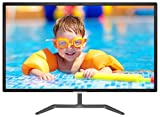 Philips 323E7QDAB 31.5' monitor, Full HD 1920x1080 IPS, Edge-to-Edge glass with narrow borders, MHL-HDMI/DVI-D/VGA, Speakers, Flicker-Free, VESA
