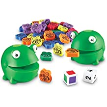 Learning Resources Froggy Feeding Fun Activity Set, Fine Motor Toy, 65 Pieces