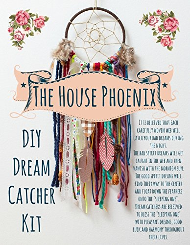 Make your own dreamcatcher craft kit makes the perfect diy birthday do it yourself project make your own dreamcatcher craft kit makes the solutioingenieria Images