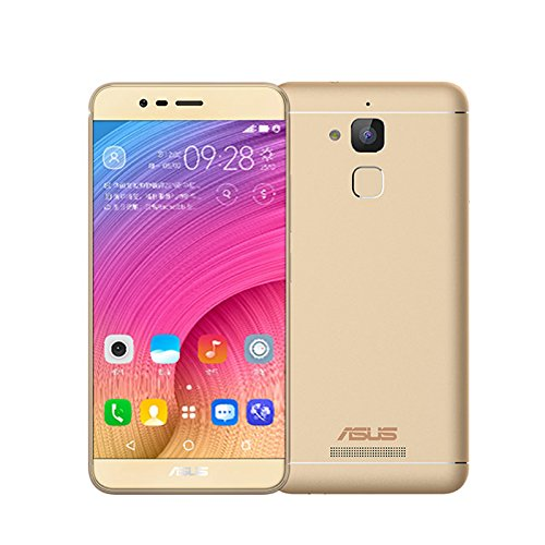 "Unlocked Zenfone Pegasus III (X008) 4G LTE SmartPhone Android 6.0 Quad core 3G RAM 32GB ROM 5.2"" HD 13.0MP 4100mAh Fingerprint International Version/No Warranty (Gold)"