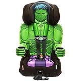 KidsEmbrace 2-in-1 Harness Booster Car Seat, Marvel Avengers Incredible Hulk