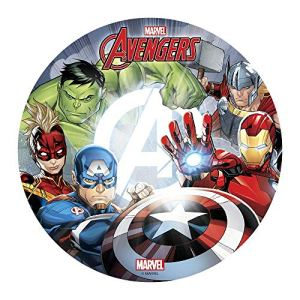 Avengers 20cm 8 inch Edible Wafer Cake Topper. Licensed Product Dekora 114401 51JuKzK4M1L