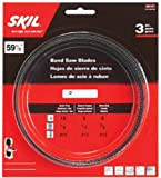SKIL 80151 59-1/2-Inch Band Saw Blade Assortment, 3-Pack