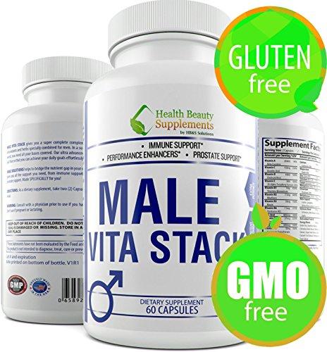 HB&S Solutions | Male VITA Stack | Multi Vitamin for Men | Daily