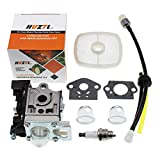 HUZTL Carburetor for Echo GT225 GT225i GT225L PAS225 PE225 PPF225 SHC225 SRM225 SRM225U Trimmer with Repower Maintenance Kit Spark Plug