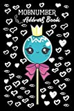 Mobnumber Address Book: Address Book Lollipop Candy Journal Modern for Women and Men with Paperback Cute Cover Design | 120 Pages 6 x 9 inch and 300 ... E-mail Fax Work Place Birthday and Notes
