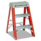 Louisville Ladder 6-Foot Fiberglass Ladder, 300-PoundCapacity, Type 1A, FS1506