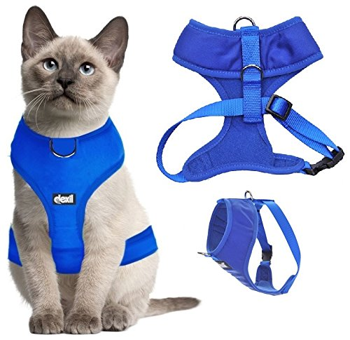 Dexil Luxury Cat Harness Padded and Water Resistant 1