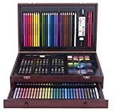 Art 101's 142 Piece Art and Creativity Wood Art Set helps kids learn and grow with the self-expression of art! Tired of looking at a plain fridge? Art 101 to the rescue! This all-in-one wood-case art set includes everything your youngster needs to in...