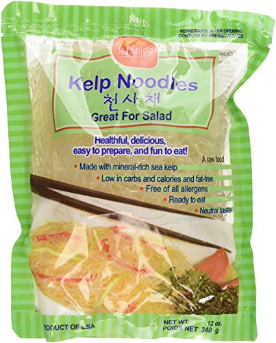 Sea Tangle Kelp Noodles: Vegan & Gluten-Free.