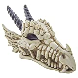 Snarling Magical Dragon Skull Treasure Trinket Box