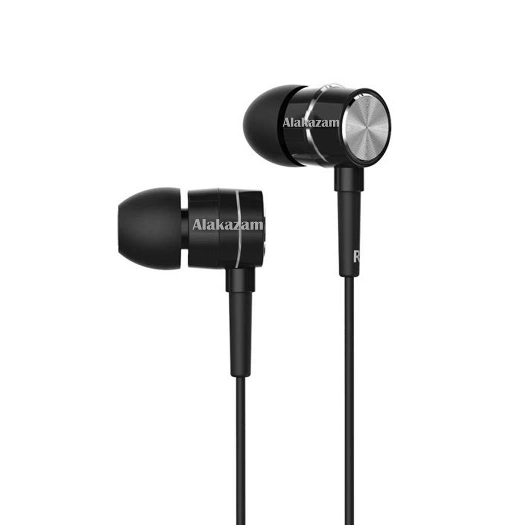 Alakazam BassFest Stereo in-Ear Wireless Bluetooth Headphones with Mic - (Black)
