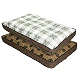 MyPillow Pet Beds, Large, Brown