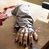 Animated Snapping Zombie Hand Halloween Decoration and Prop, 5 1/2' W x 18' L x 2 3/4' H, by Tekky Toys