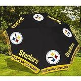 Standard Pittsburgh Steelers NFL Football 9 Foot Beer Patio Umbrella Market Style New