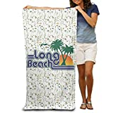 Kkajjhd Long Beach Wrap Bath Shower Towel For Pools,gyms,beaches