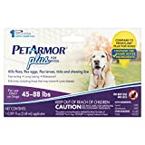 PetArmor Plus Lice Treatment for Large Dogs, 1 Application