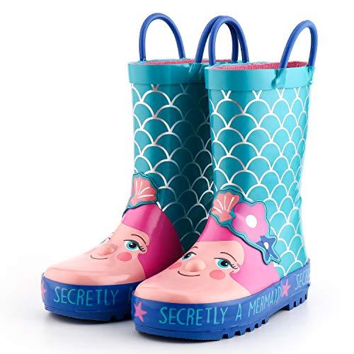 KomForme Kids Rain Boots, Girl and Boy Rubber...