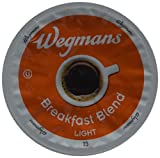Wegman's Breakfast Blend Light Roast Single Serve K-Cups Case of 72