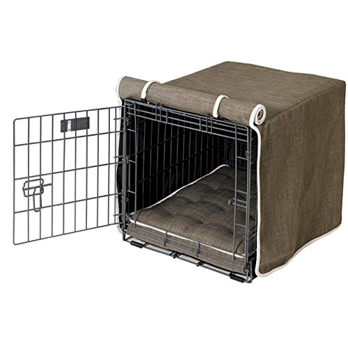 Bowsers Luxury Crate Cover, XX-Large, Flax