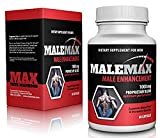 MaleMax- Male Testosterone and Performance Booster- Increase Size, Stamina, Energy. Powerful and Fast Acting Enhancement Formula Adds Inches Fast- Safe Alternative to Prescriptions with Size Enhancing