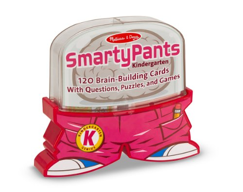 Melissa & Doug Smarty Pants Kindergarten Card Set - 120