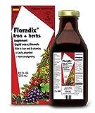 Floradix Iron + Herbs, 8.5-Ounce Glass Bottle