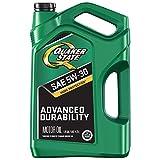 Quaker State Advanced Durability Conventional 5W-30 Motor Oil (5-Quart, Single-Pack)