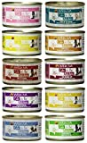 Weruva Grain Free Cats in the Kitchen Canned Cat Food 10 Flavor Variety Bundle, 3.2 Ounces Each (10 CANS TOTAL)