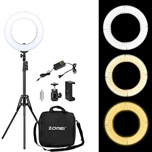 Zomei-led dimmable-Ring Lights