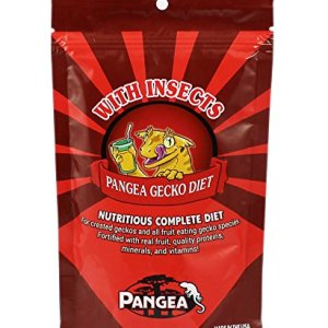 Pangea Fruit Mix with Insects Crested Gecko Complete Diet 2 oz 10