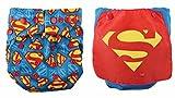Bumkins Snap-In-One Cloth Diaper 2-Pk Regular and Cape DC Comics Superman