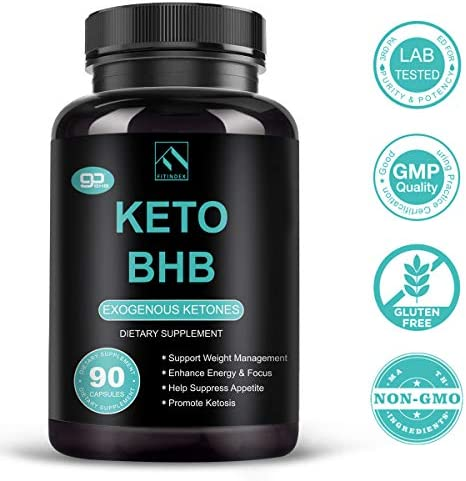 Keto Pills - Keto Diet Pills (800mg | 90 Capsules), BHB Ketogenic Supplement Exogenous Ketones Ketosis Keto Fast Burn Capsules - Support Weight Management & Metabolism, Boost Energy & Focus 4