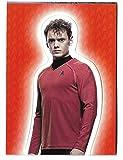 Star Trek Movies Into Darkness Foldout Card Anton Yelchin as Chekov Rewards Redemption F10