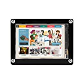 fosa 1080P IPS 60fps 3.5 inch HDMI LCD Screen Display for Raspberry Pi 3 Mode B+,3 Mode B, Pi 2 Model B, Pi Model B+, Pi Model A+ with Black Acrylic Protective Case