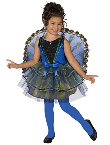 peacock costumes for children - Other Manufacturers girls Big Girls' Peacock Costume Medium (8-10)