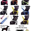 """FRIENDLY"" Green Color Coded Non-pull Dog Harness (Known As Friendly) PREVENTS Accidents By Warning Others of Your Dog in Advance! 4"
