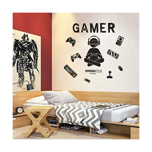 Honeyjoy Game Room Decor Boys Room Decorations For Bedroom Video Game Room Wall Stickers Removable Wall Art For Kids Essential Everyday Needs