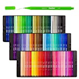 Shuttle Art Fineliner Pens, 100 Colors 0.4mm Fineliner Color Pen Set Fine Line Drawing Pen Fine Point Markers Perfect for Adult Coloring Books Drawing and Bullet Journal Art Projects