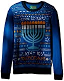 Product review for Ugly Christmas Sweater Men's Light My Menorah Sweater
